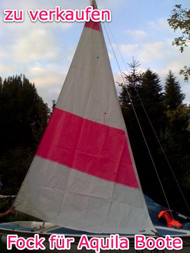 Vorsegel für Aquila Segelboot
